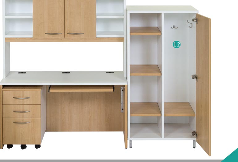 Bookcase with doors - Model A-5655-2